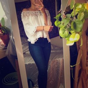 Chic wish white blouse